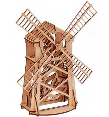 Механический 3D пазл Wood Trick Мельница