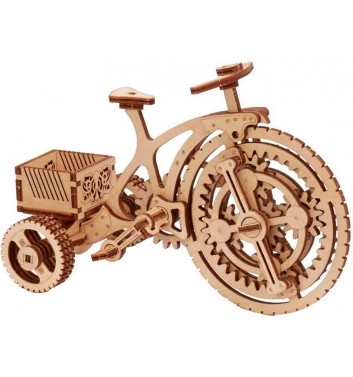 Mechanical 3D puzzle Wood Trick Bicycle