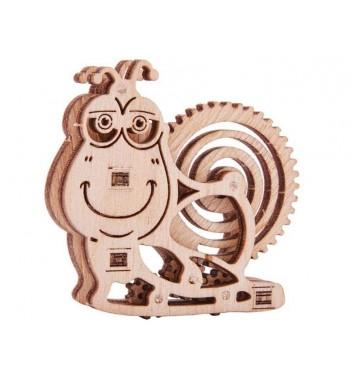 Механічний 3D пазл Wood Trick Вудік Равлик
