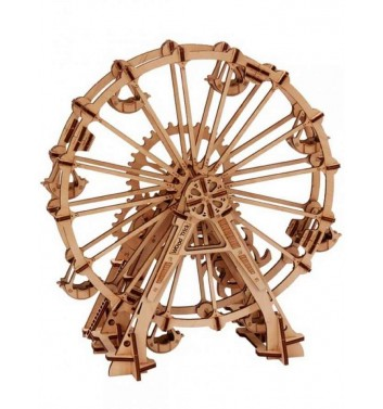 Mechanical 3D puzzle Wood Trick Wheel review