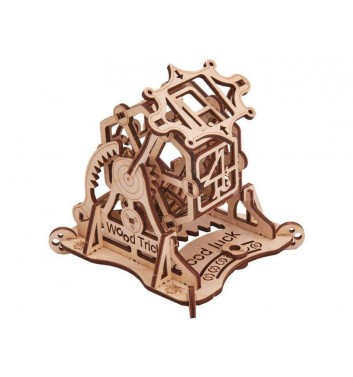Mechanical 3D puzzle Wood Trick Wheel of Fortune