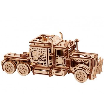 Mechanical 3D puzzle Wood Trick Big Rig
