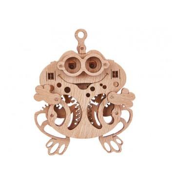 Механический 3D пазл Wood Trick Вудик Лягушка