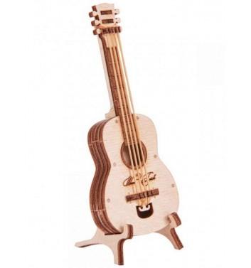 Механический 3D пазл Wood Trick Вудик Гитара
