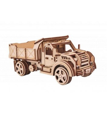 Mechanical 3D puzzle Wood Trick Truck