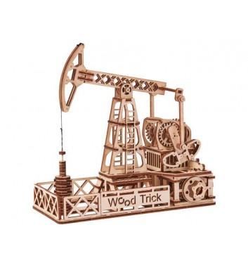 Механічний 3D пазл Wood Trick Нафтовишка