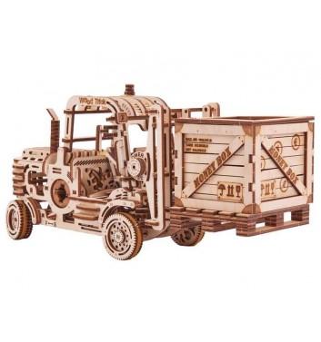 Механический 3D пазл Wood Trick Погрузчик