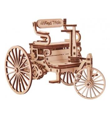 Механический 3D пазл Wood Trick Первый автомобиль