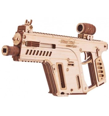 Mechanical 3D puzzle Wood Trick Assault gun