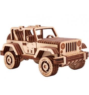 Mechanical 3D puzzle Wood Trick Safari jeep