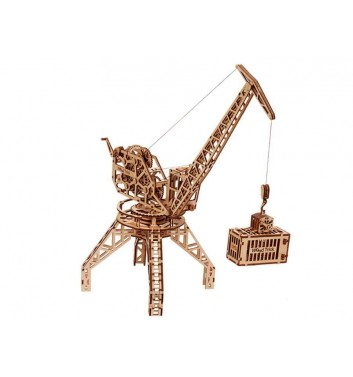 Mechanical 3D puzzle Wood Trick Crane