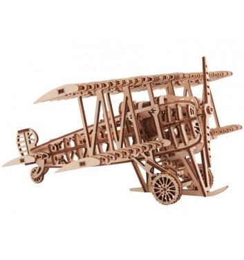 Механічний 3D пазл Wood Trick Літак