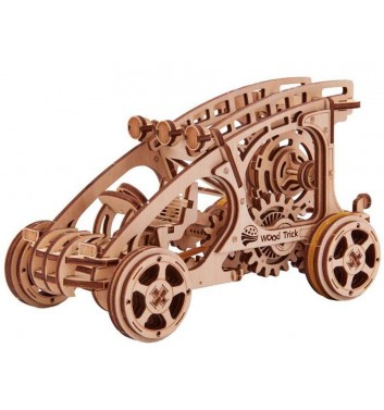 Mechanical 3D puzzle Wood Trick Buggy