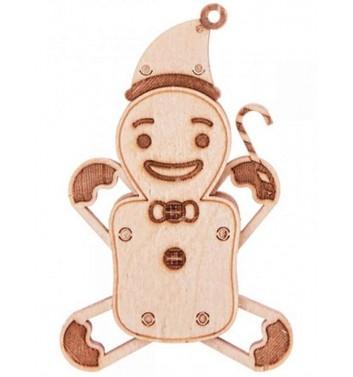 Механический 3D пазл Wood Trick Вудик Пряник