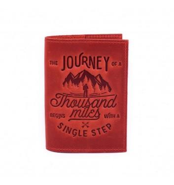 Обкладинка на паспорт Raystone 1000 миль Червоний