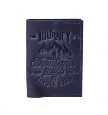 Обложка на паспорт Raystone 1000 миль Синий