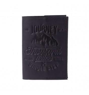 Обкладинка на паспорт Raystone 1000 миль Чорний
