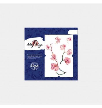 Temporary tattoos Arley Sign Orchid