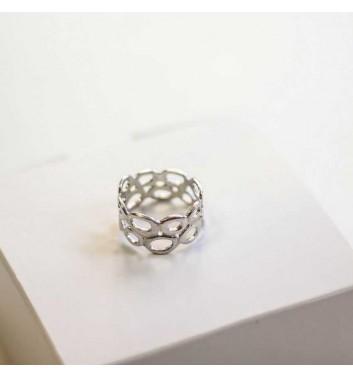 Ring Argent jewellery Cobweb
