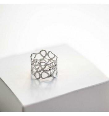 Каблучка Argent jewellery Wide Cobweb