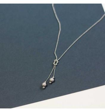 Pendant Argent jewellery Two balls