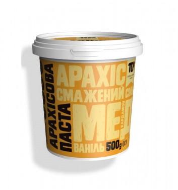 Арахісова паста TOM (Maslotom) з медом та кардамоном 500 г