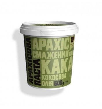 Арахісова паста TOM (Maslotom) з какао та кокосовою олією 500 г