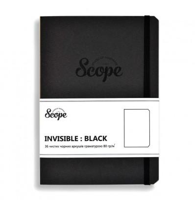 Блокнот Invisible black