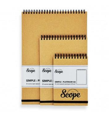 Notebook Scope Simple Platinum