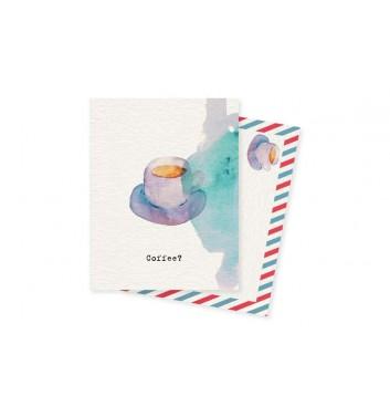 Міні-листівка Mirabella postcards Coffee