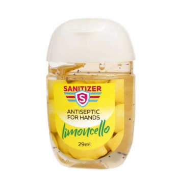 Antibacterial Gel Sanitizer Limoncello