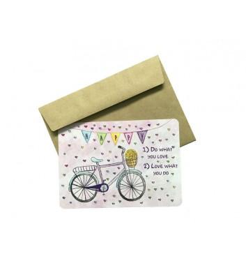 Листівка EgiEgi Cards Велосипед