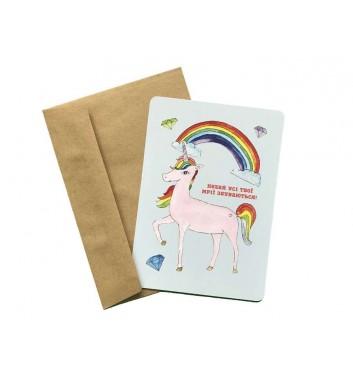 Листівка EgiEgi Cards Єдиноріг