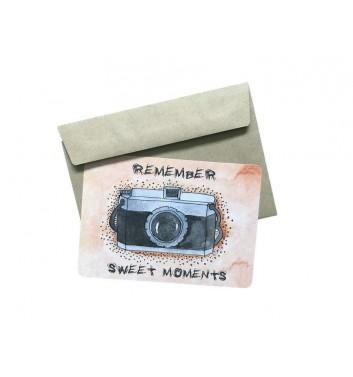 Открытка EgiEgi Cards Фотокамера