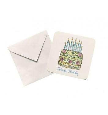 Мини открытка EgiEgi Cards С Днем Рождения