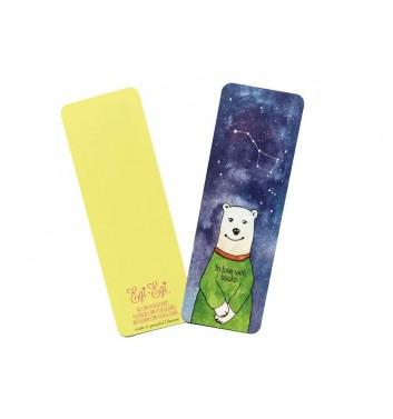 Закладка EgiEgi Cards Білий ведмідь