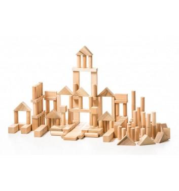 Деревянная игрушка LisLis Конструктор Большой