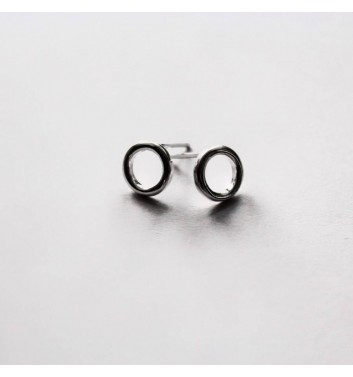 Earrings Argent jewellery Empty circles