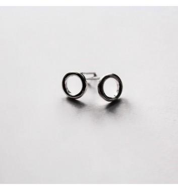 Серьги Argent jewellery Empty circles