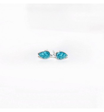 Сережки Argent jewellery Leaf Turquoise
