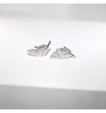 Серьги Argent jewellery Feathers large