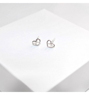 Сережки Argent jewellery Empty Hearts