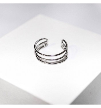Кольцо Argent jewellery Three straight lines