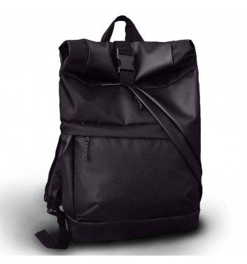 Backpack Twins Store Rolltop Large Black