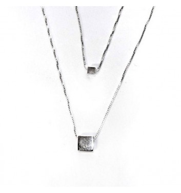 Підвіска Argent jewellery Two Squares