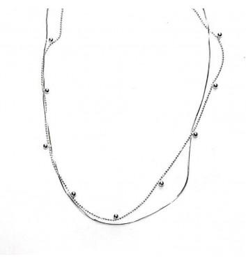 Підвіска Argent jewellery Two chains and Balls