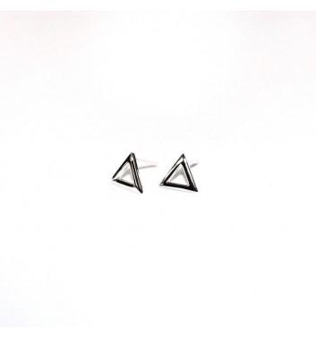 Earrings Argent jewellery Empty Triangles