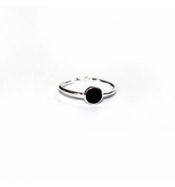 Каблучка Argent jewellery Black Circle