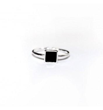 Кольцо Argent jewellery Black Square