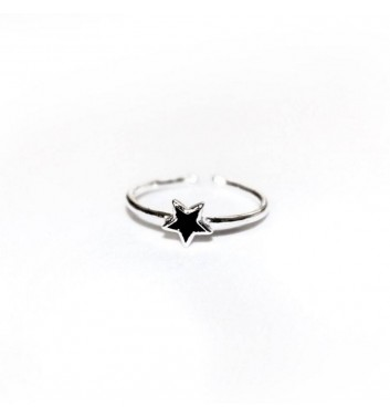 Кольцо Argent jewellery Black Star